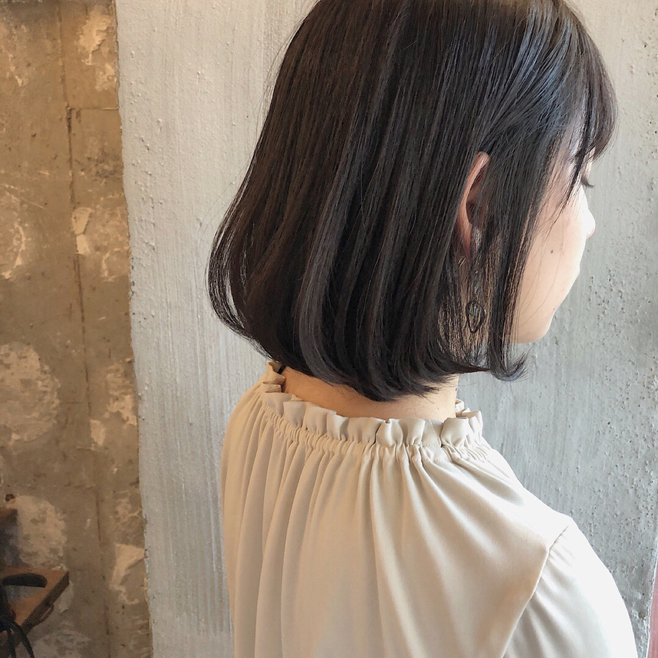透明感 くすみカラー ボブ 外国人風カラー ヘアスタイルや髪型の写真・画像