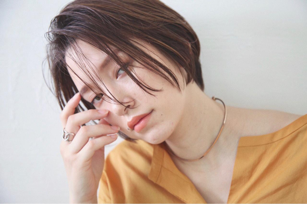 バレイヤージュ ニュアンス 外国人風 ハイライト ヘアスタイルや髪型の写真・画像
