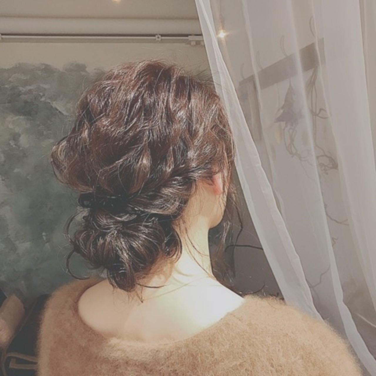 ロング 大人かわいい フェミニン 冬 ヘアスタイルや髪型の写真・画像