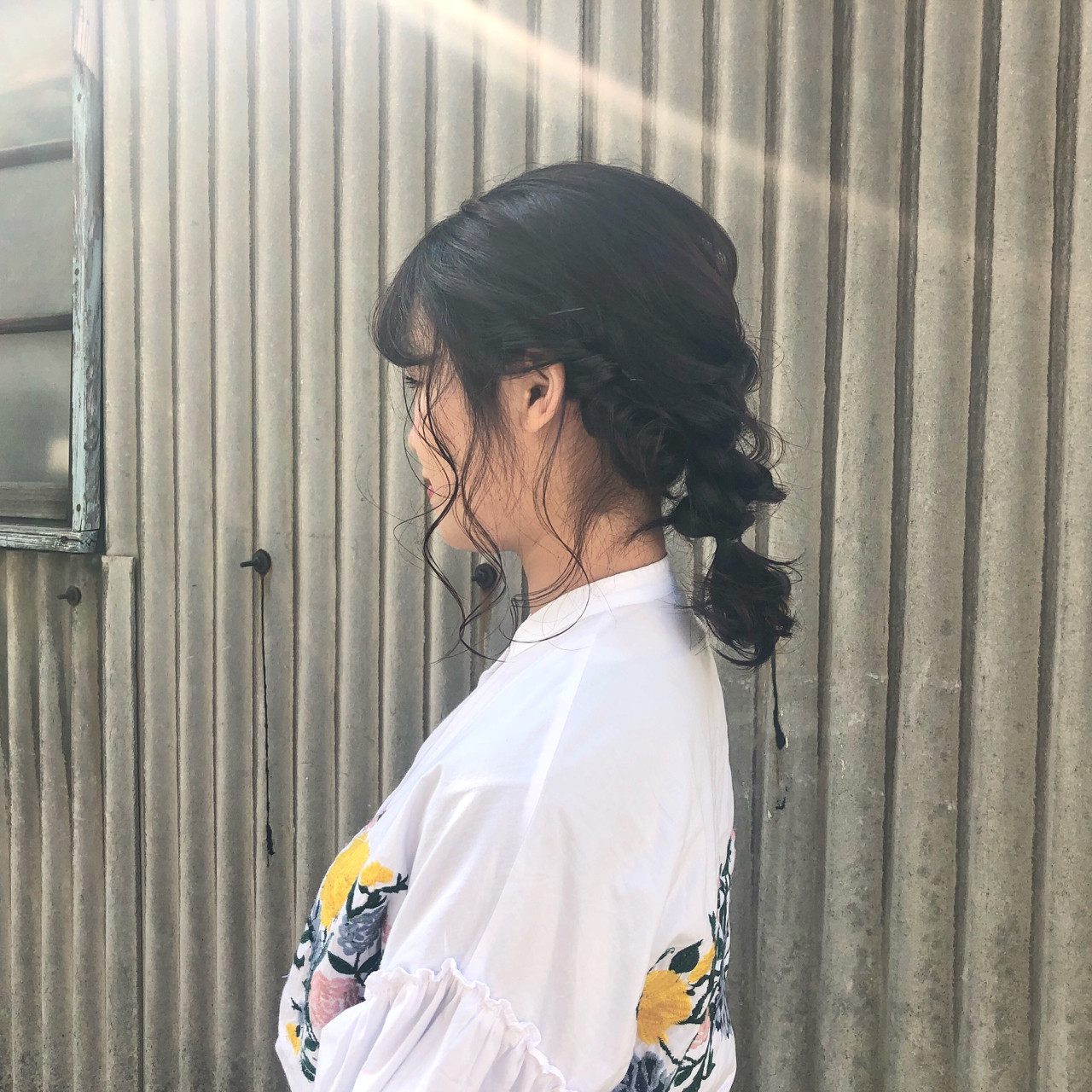 ロープ編み×三つ編みで!まとめ髪アレンジ 藤田成美 / oli