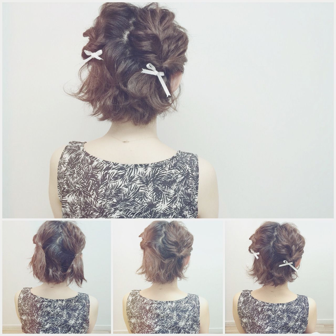 ナチュラル アップスタイル ヘアアレンジ ヘアスタイルや髪型の写真・画像