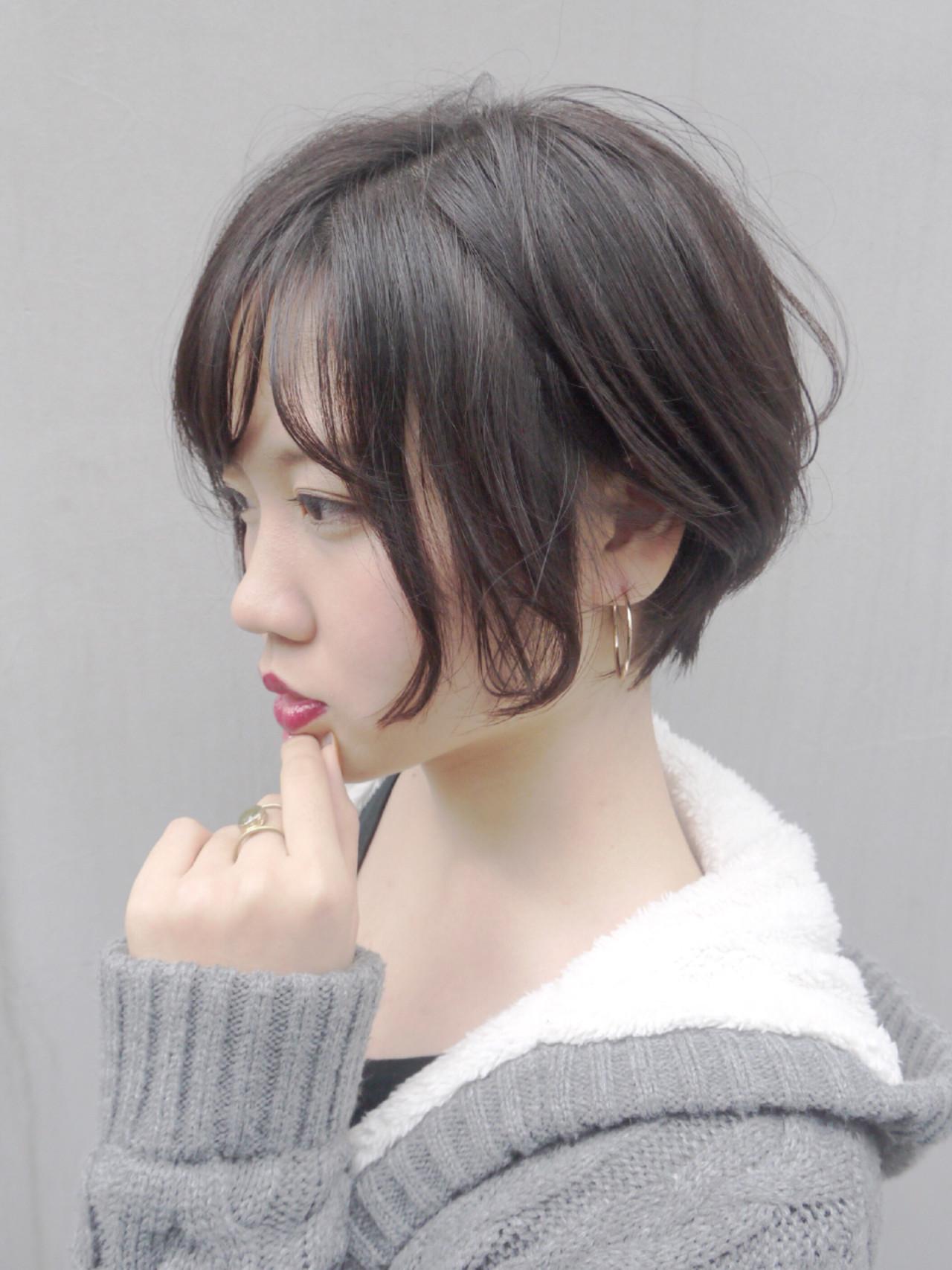 冬 コンサバ 秋 カーキアッシュ ヘアスタイルや髪型の写真・画像