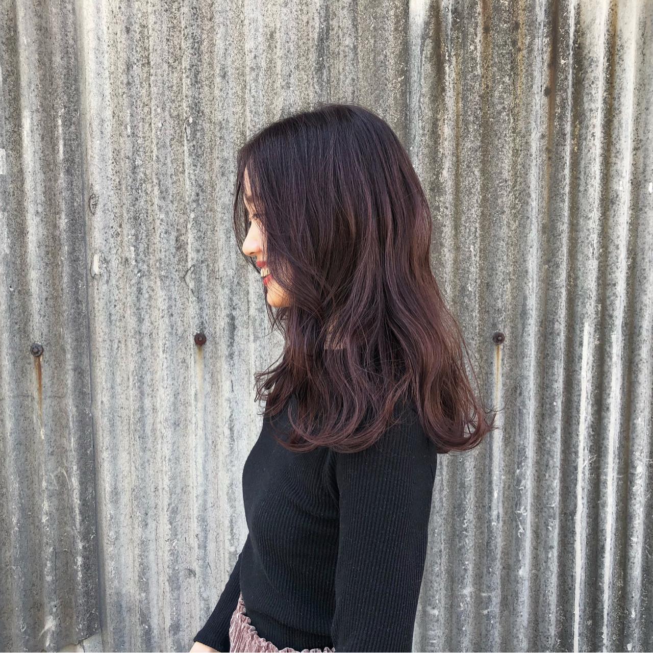 ピンク デート レッド モード ヘアスタイルや髪型の写真・画像