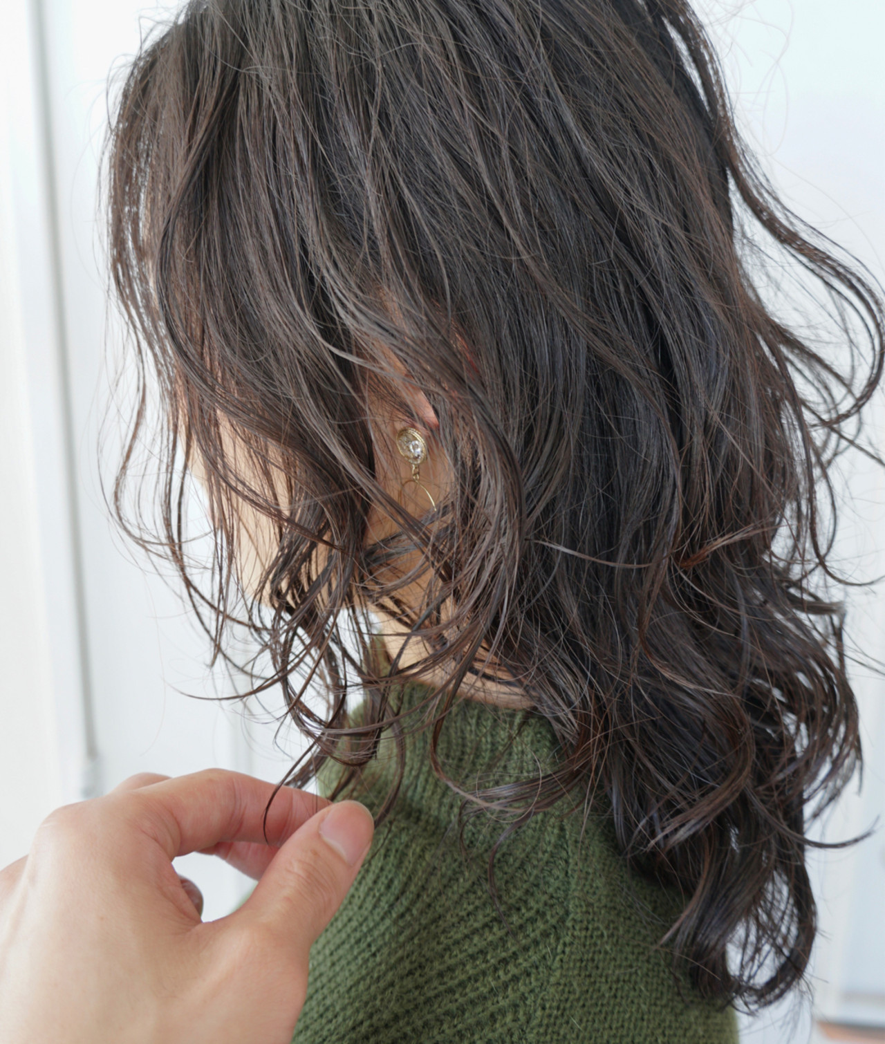 ふんわり ゆるふわ ウェーブ 可愛い ヘアスタイルや髪型の写真・画像