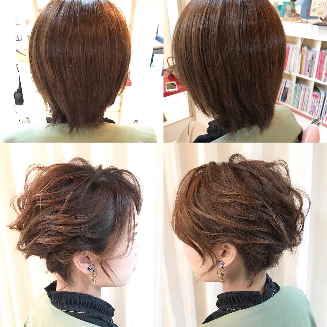 ナチュラル ヘアアレンジ 涼しげ 簡単ヘアアレンジ ヘアスタイルや髪型の写真・画像