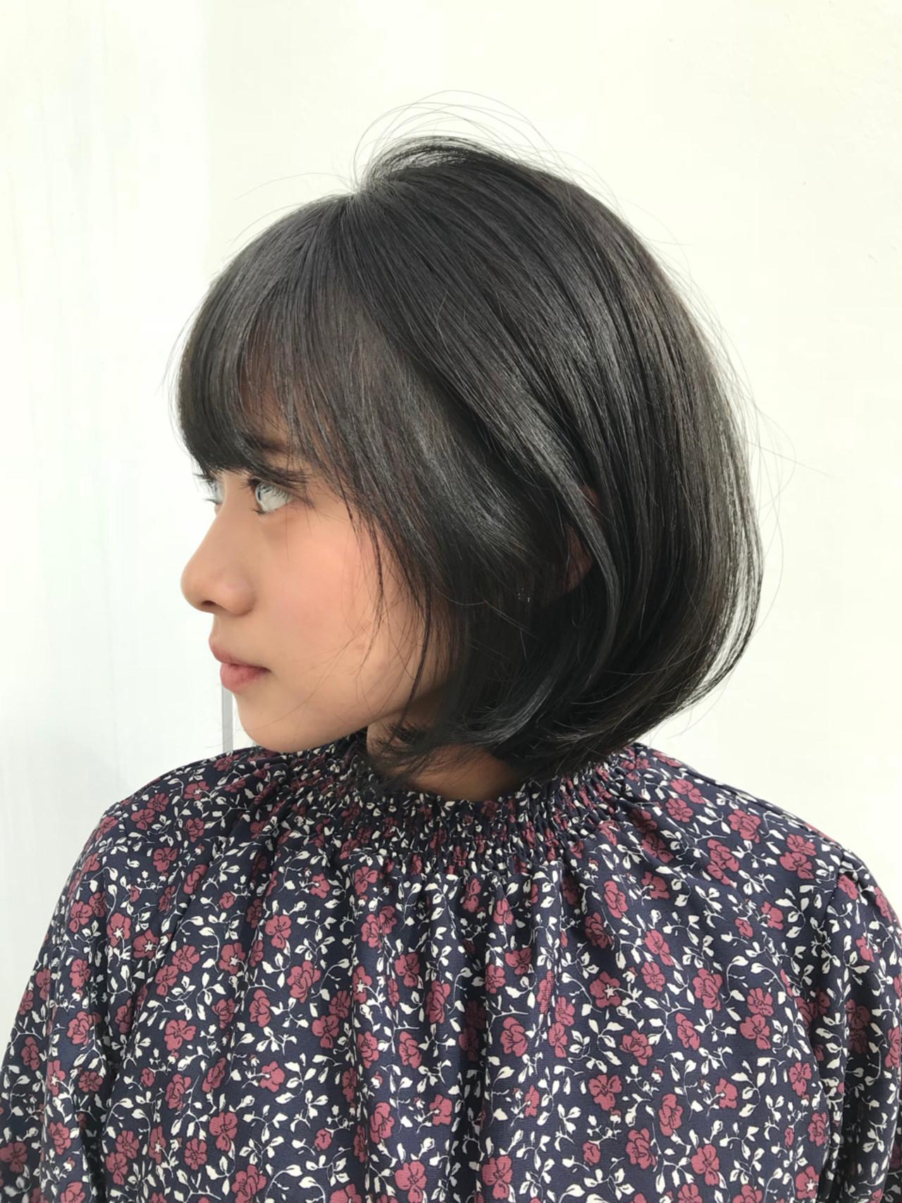 グレージュ アッシュグレージュ デート オフィス ヘアスタイルや髪型の写真・画像