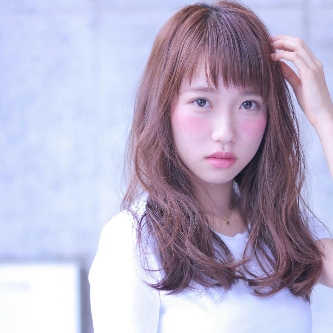 人気のオン眉バングでおしゃかわに♡ Wataru Maeda