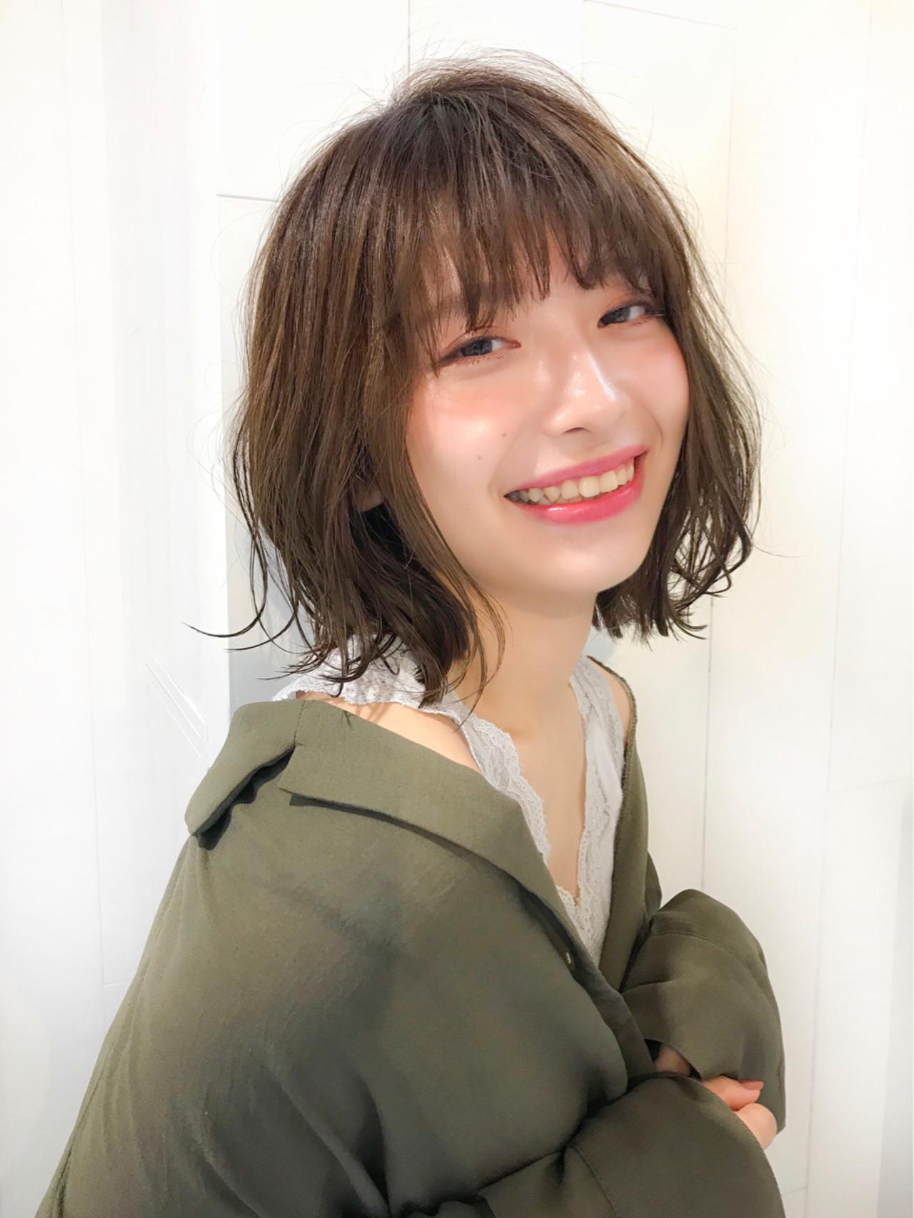 愛されヘアスタイル♡抜けミディアム ミディアムヘアのカリスマ!【星野 達】