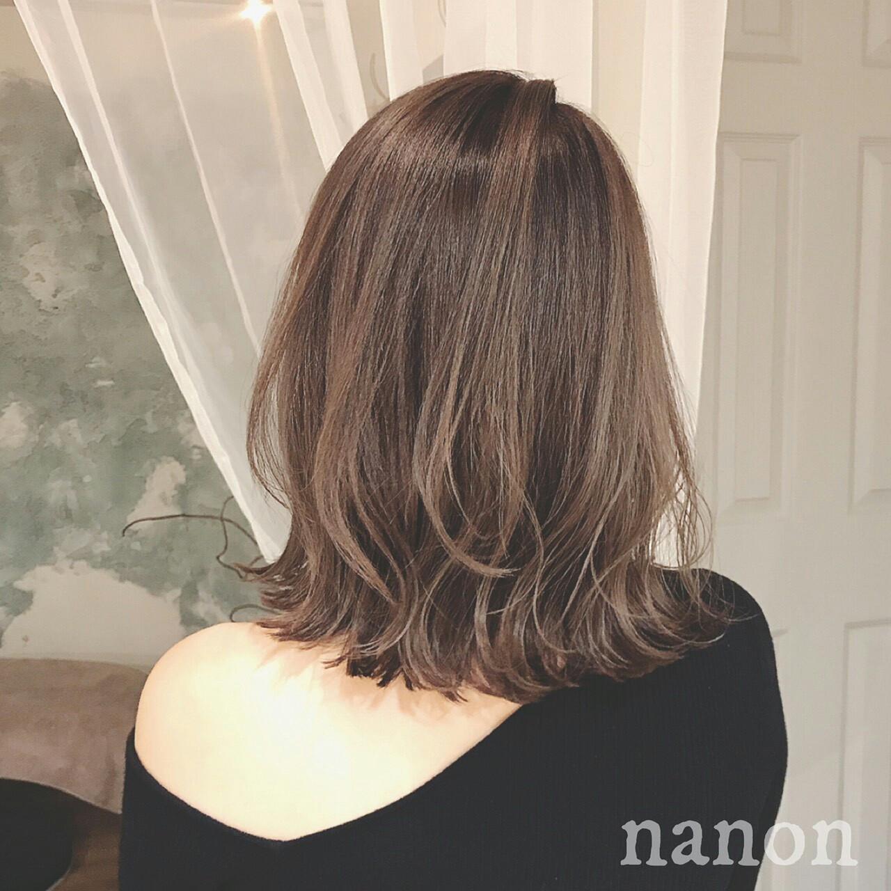 エレガント グラデーションカラー 冬 大人かわいい ヘアスタイルや髪型の写真・画像