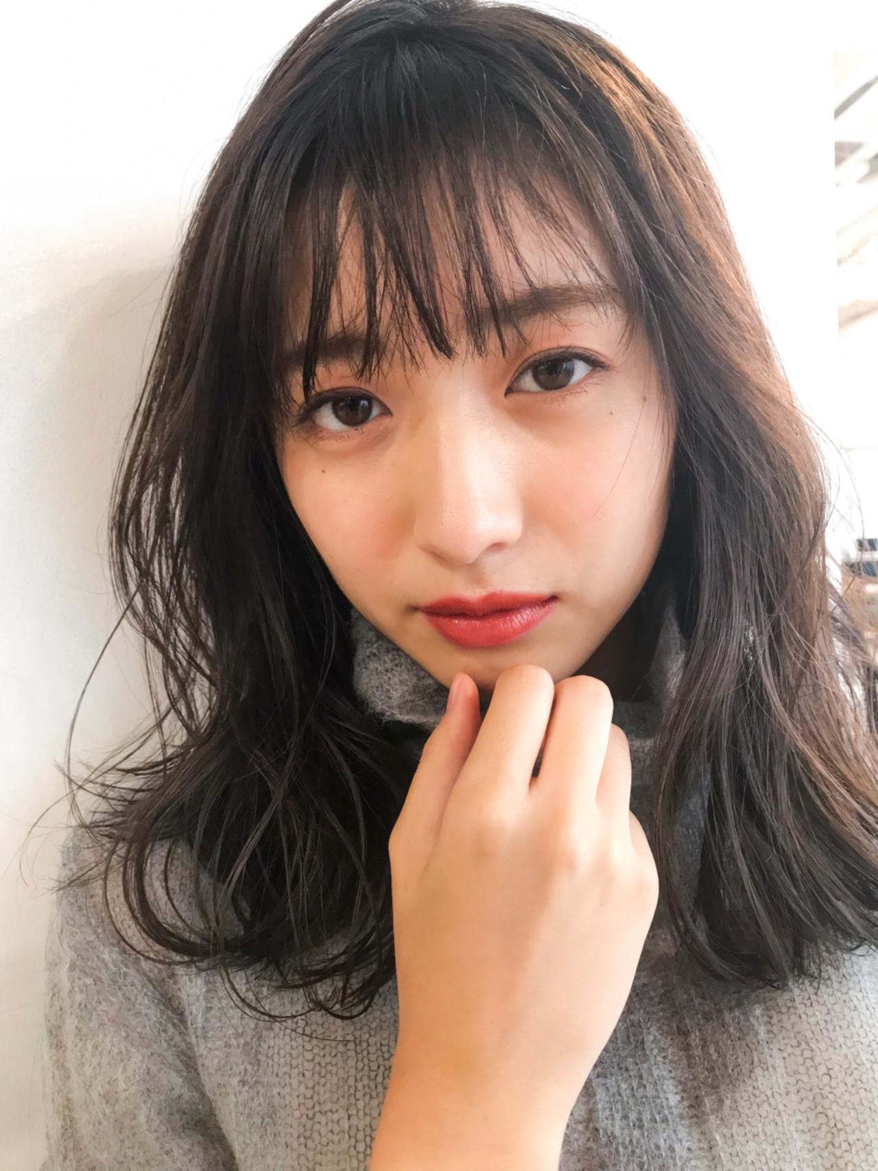 大きめウェーブが可愛い♡大人可愛いミディアム GARDEN harajyuku 細田
