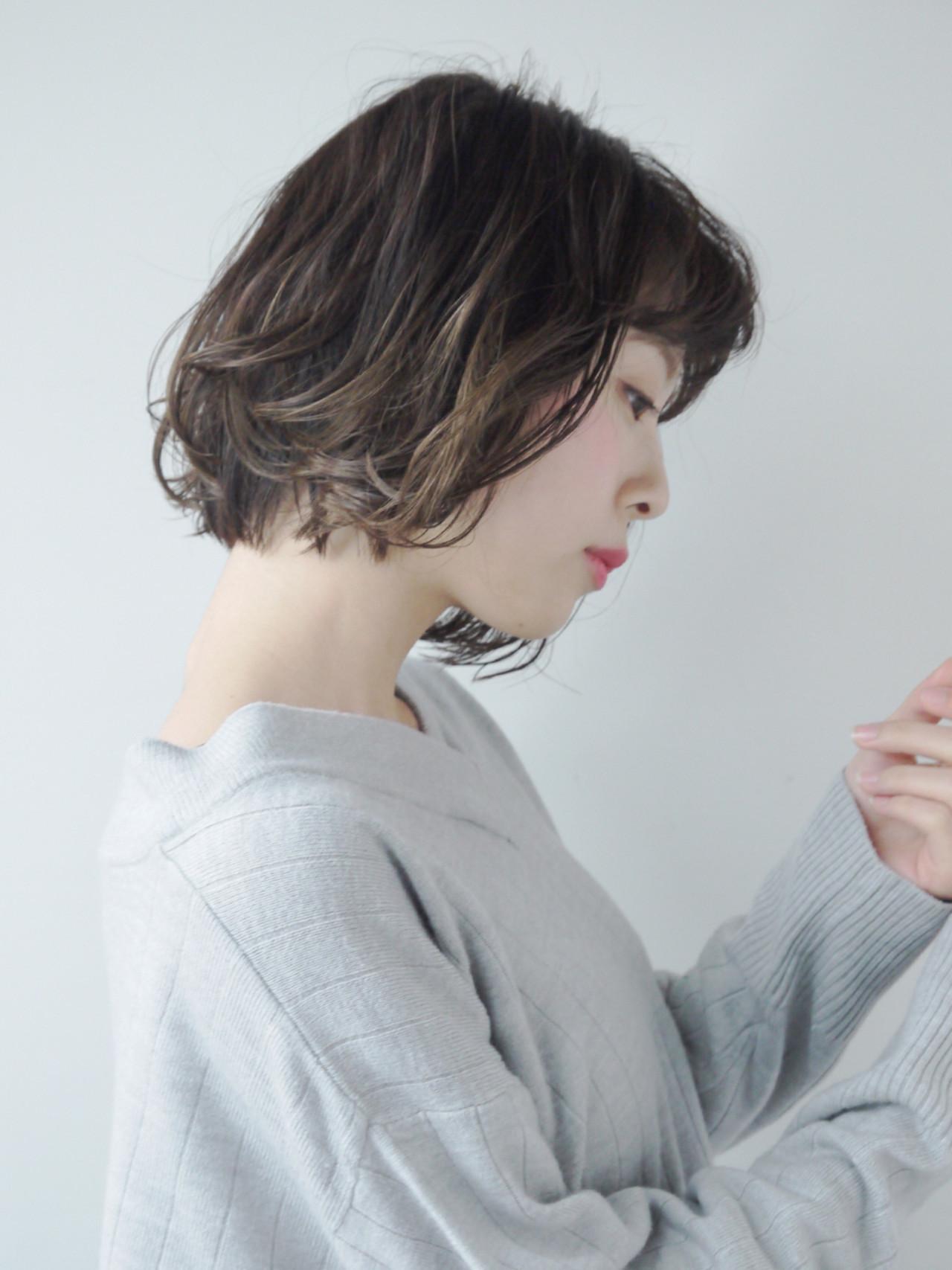 【ボブ】アンニュイなこなれボブ♡ Hiroki Sakuma【morio原宿】