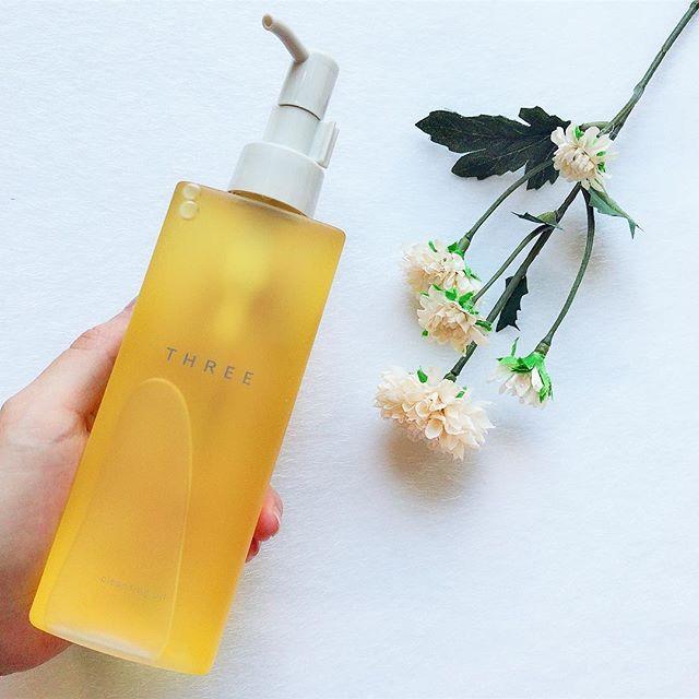 植物性オイルが肌を保湿 THREE クレンジングオイル sakiiiii20