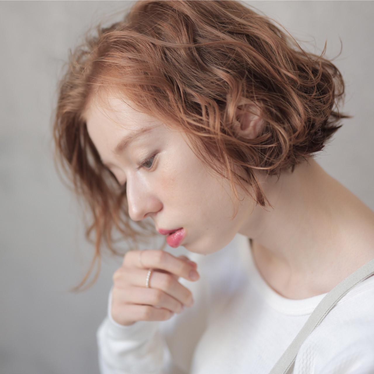 ふんわり外国人風パーマ 道具朝美  ELICA.下北沢