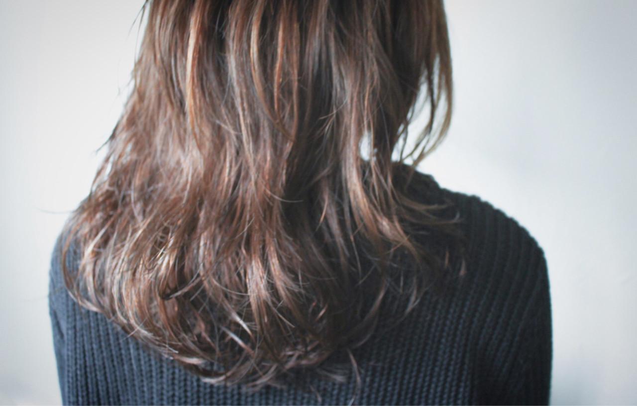 簡単 パーマ ナチュラル ゆるふわ ヘアスタイルや髪型の写真・画像
