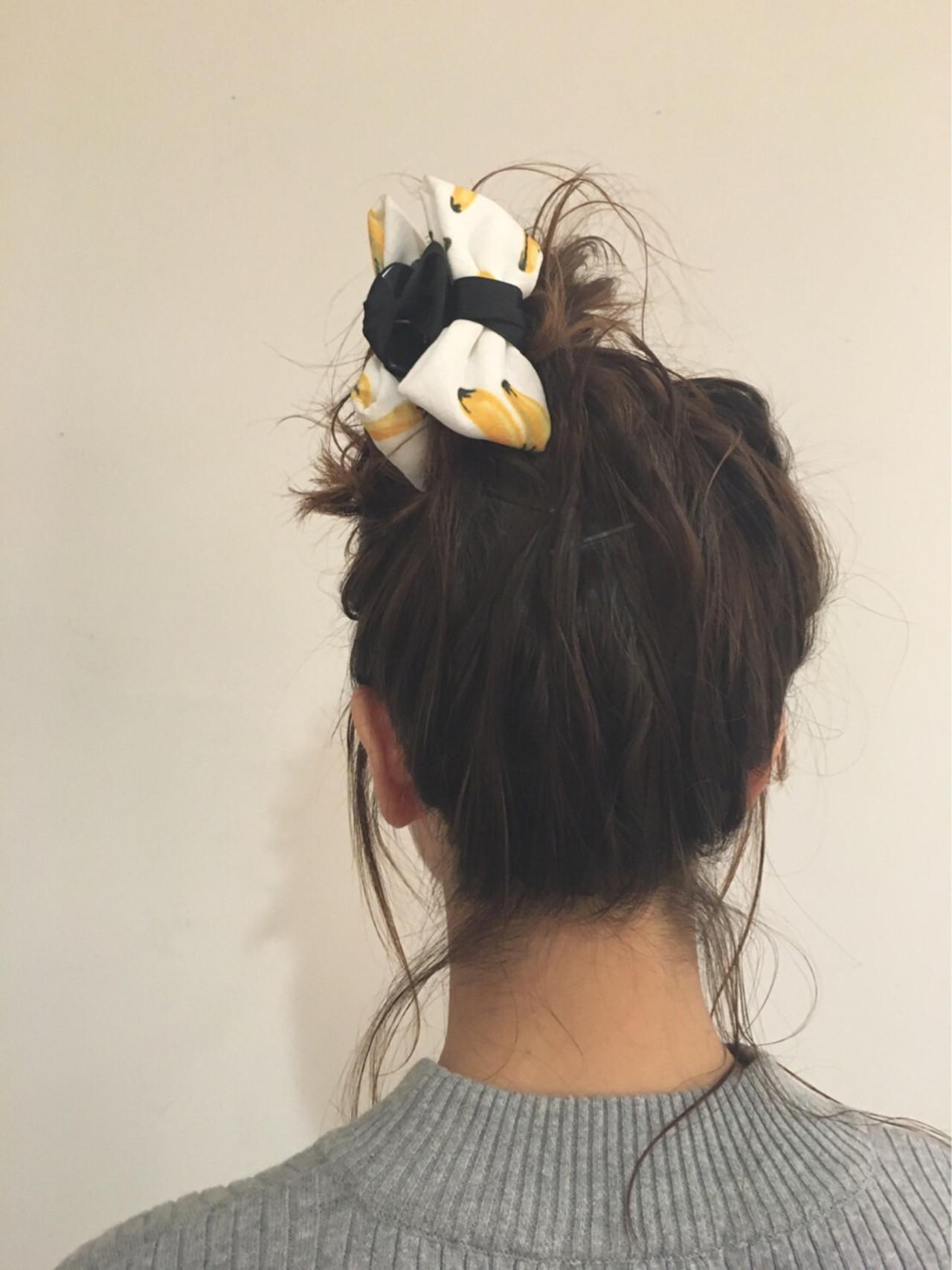ヘアクリップ ヘアアレンジ ストリート ミディアム ヘアスタイルや髪型の写真・画像