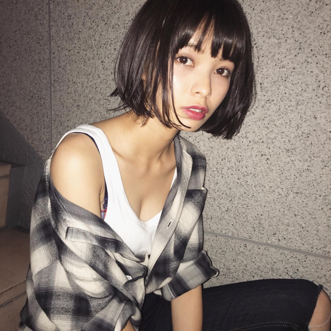 男ウケUP♡黒髪×前髪あり「モテる」ための最強ヘアって知ってた?