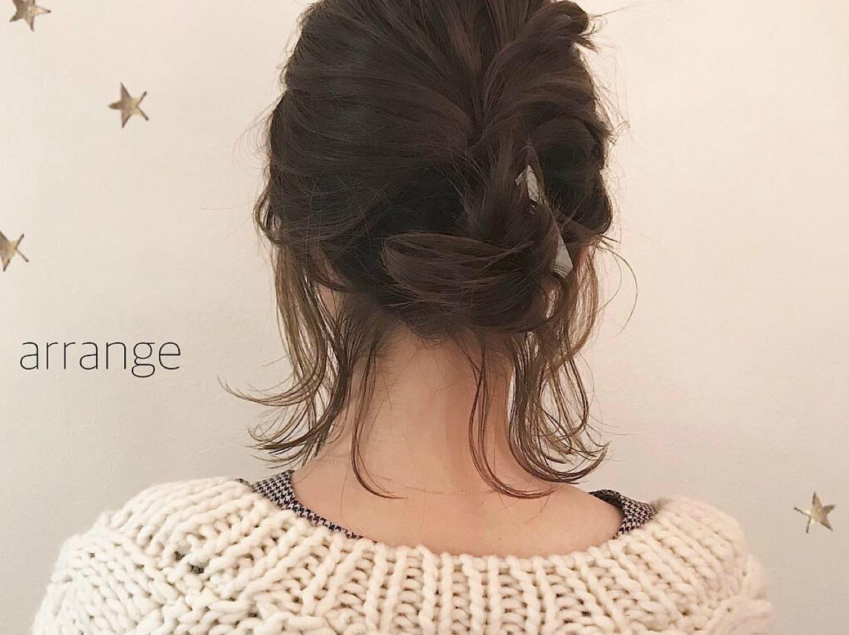 冬の必需品♡マフラーに合うヘアスタイル~アレンジ特集♪
