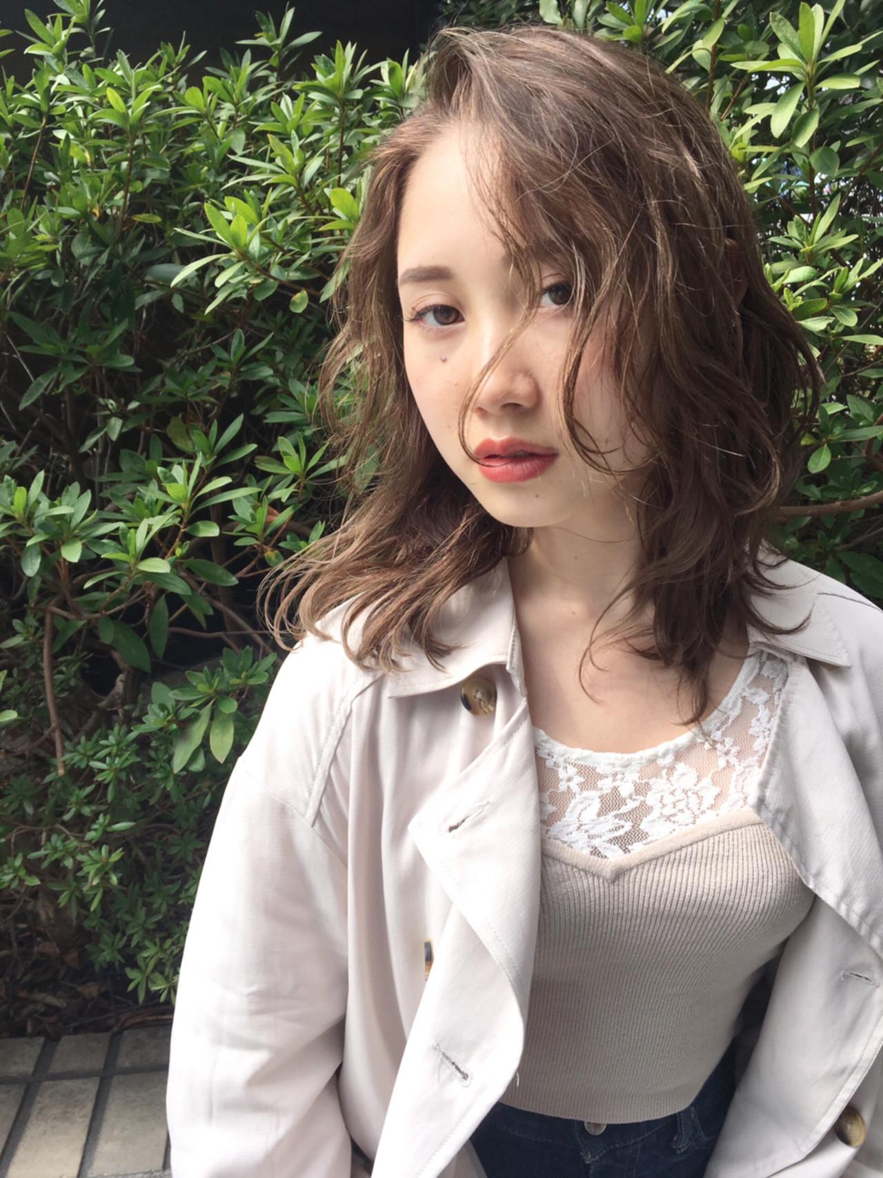 おフェロ アンニュイ 透明感 外国人風 ヘアスタイルや髪型の写真・画像