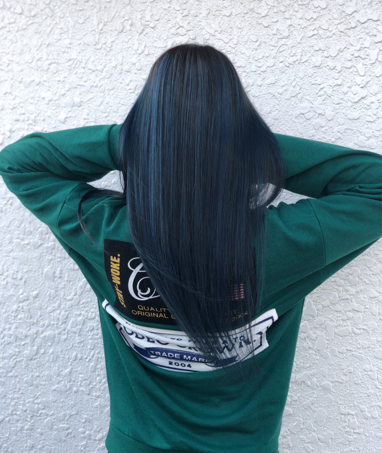 フェミニン ハイライト ロング バレイヤージュ ヘアスタイルや髪型の写真・画像