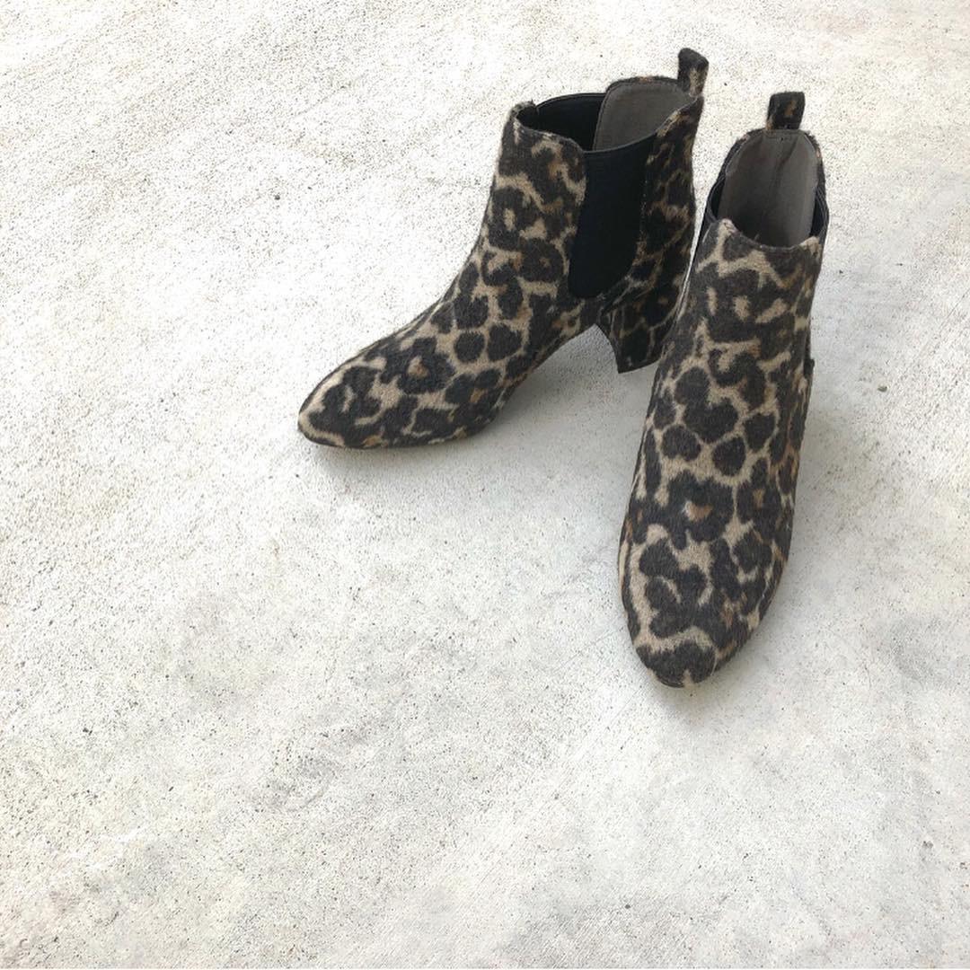 レオパード柄ブーツはマスト♪ a_sami121