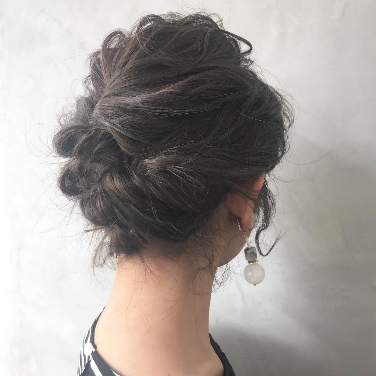 大人かわいい ボブ 結婚式 フェミニン ヘアスタイルや髪型の写真・画像