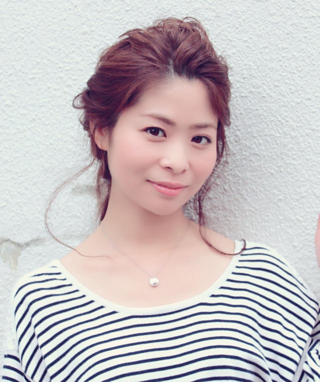 アップスタイル ヘアアレンジ ロング ヘアスタイルや髪型の写真・画像