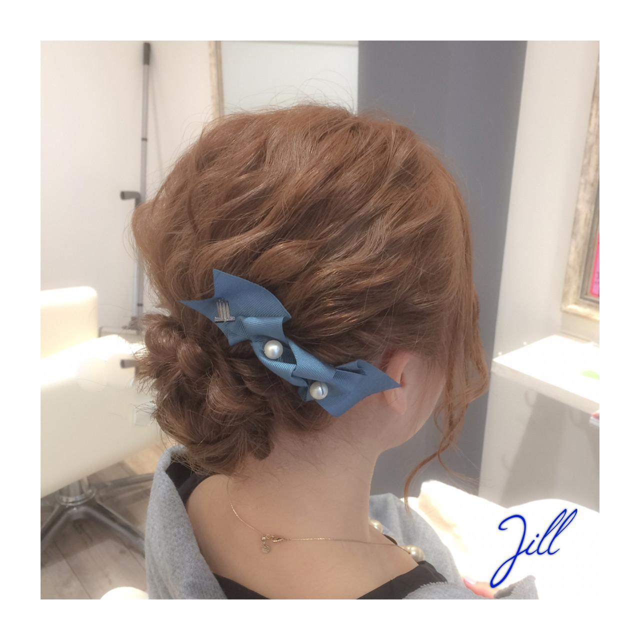 崩れ防止に♡片側寄せバレッタヘア 花房 佑典 / Jill