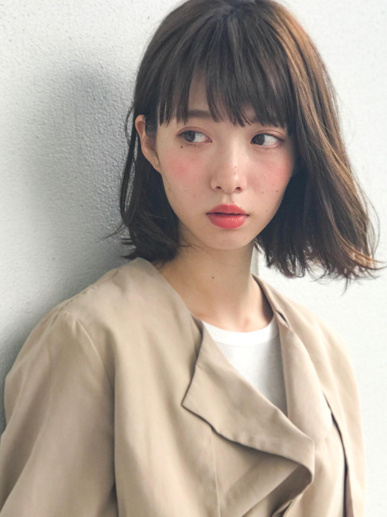 男ウケ◎ナチュラルアッシュブラウンボブ GARDEN harajyuku 細田