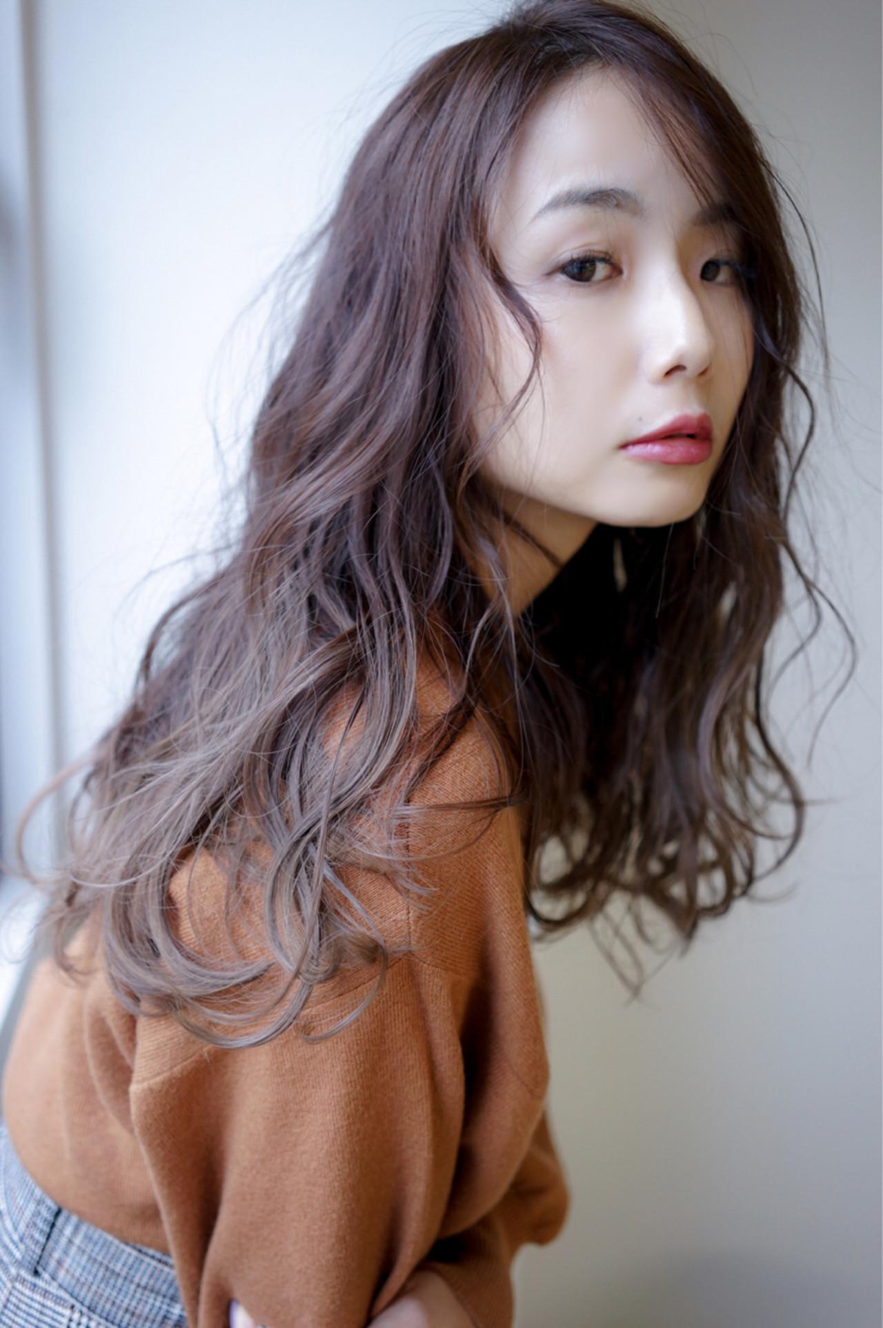 落ち着きのある暗髪に透明感をプラス☆ 田渕 英和/vicushair
