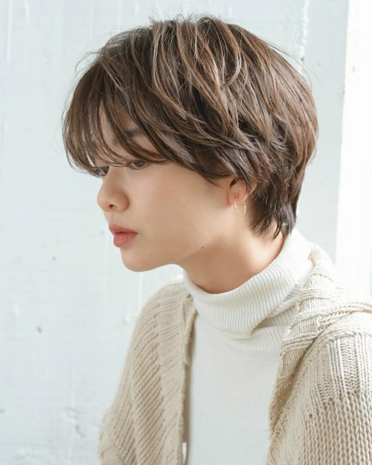 髪色アッシュグレージュショートでおしゃれに☆ Yukie Horiuchi