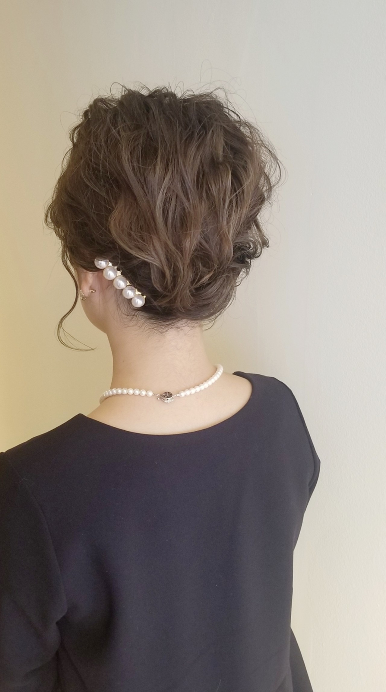 上品 エレガント 結婚式 ボブ ヘアスタイルや髪型の写真・画像