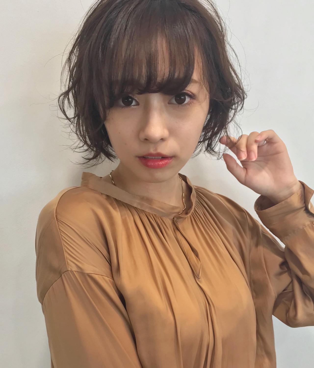 アンニュイ揺れがステキ♡色っぽショート GARDEN omotesando 中村英太