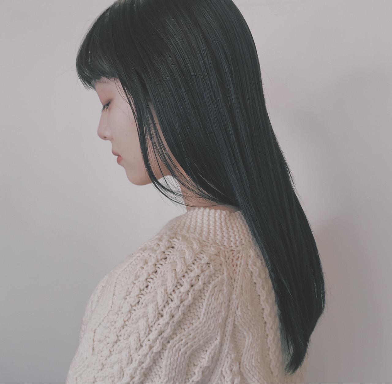 ロングならストレート!日本人らしい黒髪清楚美人 BRIDGE英香