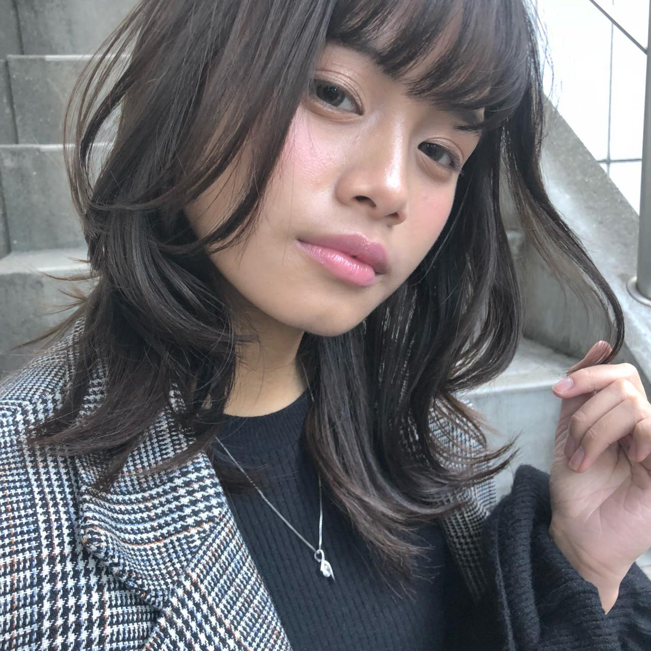 レイヤーをプラス☆重軽自在のミディヘア kanasaki konomi