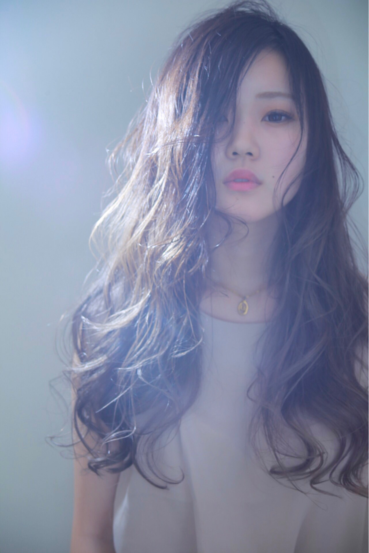 ゆるふわ 外国人風カラー 上品 ロング ヘアスタイルや髪型の写真・画像