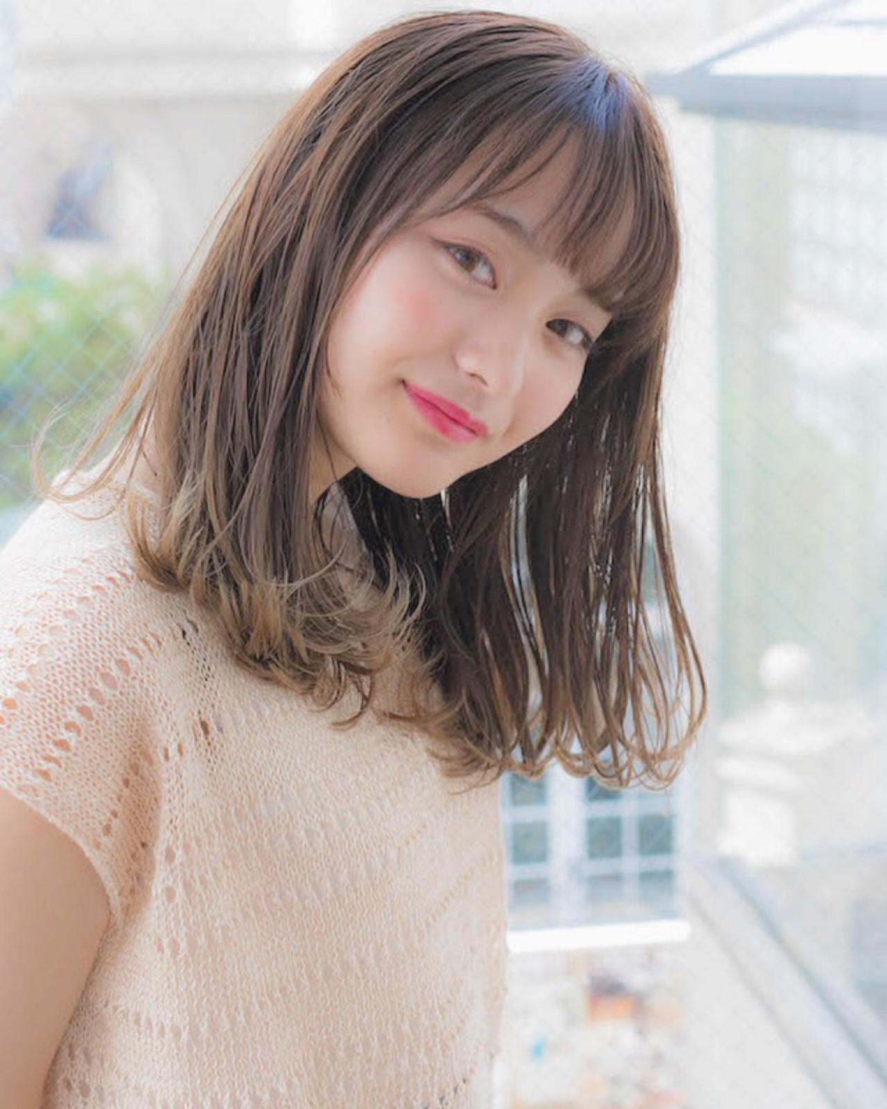 大人可愛い印象になれる髪型♡ 竹澤 優/relian銀座Top stylist