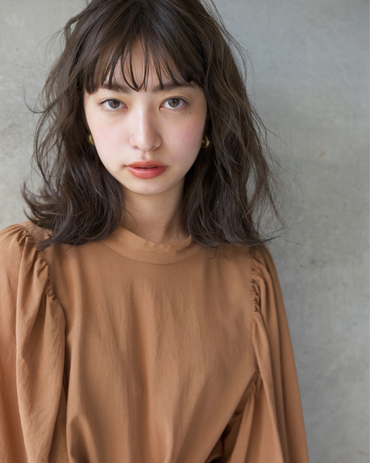 パーマで大人♪ミディアムショート 佐脇 正徳