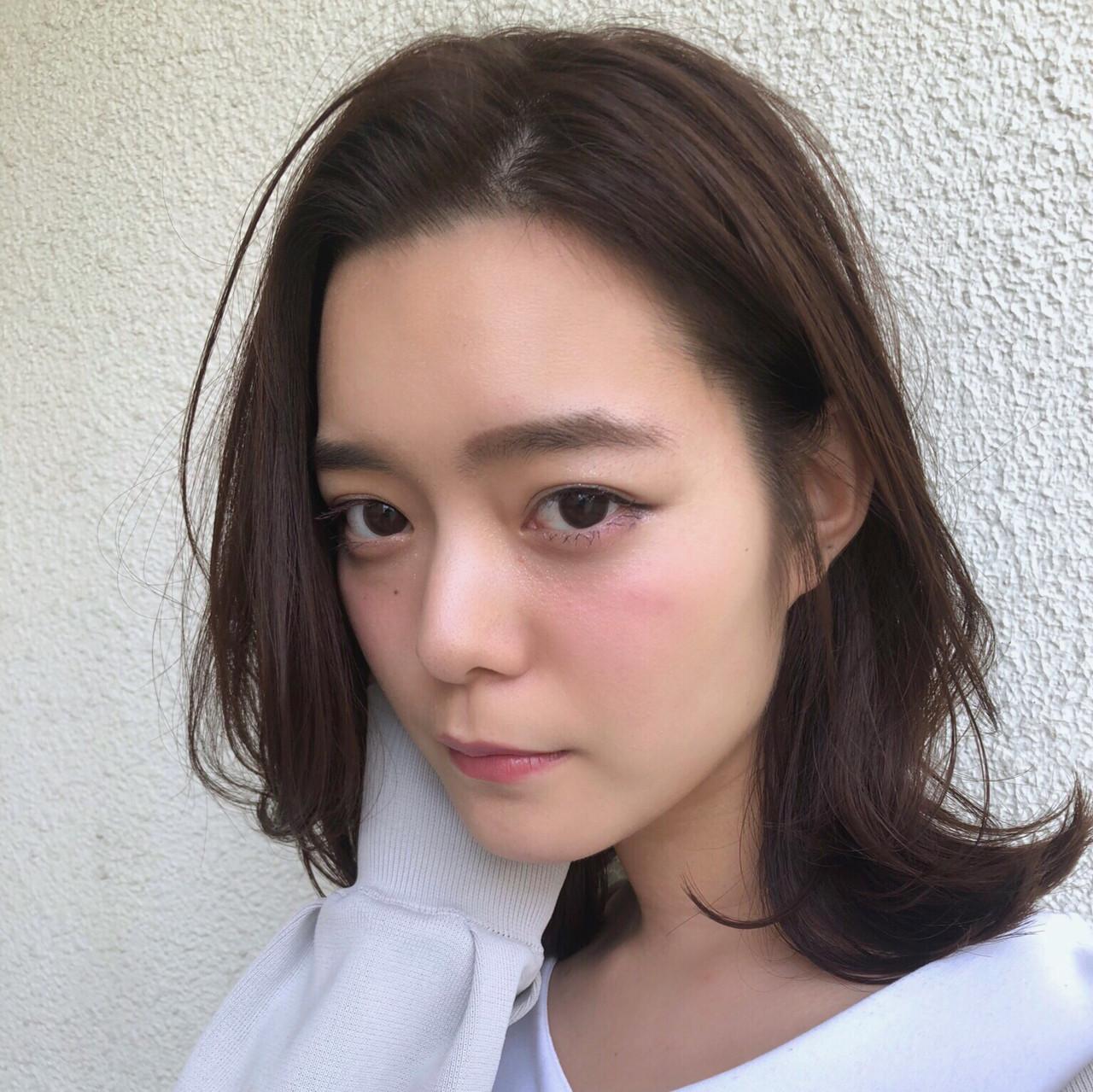 レイヤーを入れてウルフ風が今っぽ♡ 大西 絢子/HOULe