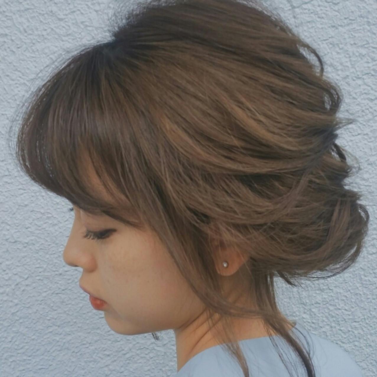 髪型別アップヘア☆グッと華やかになれるアイデア集
