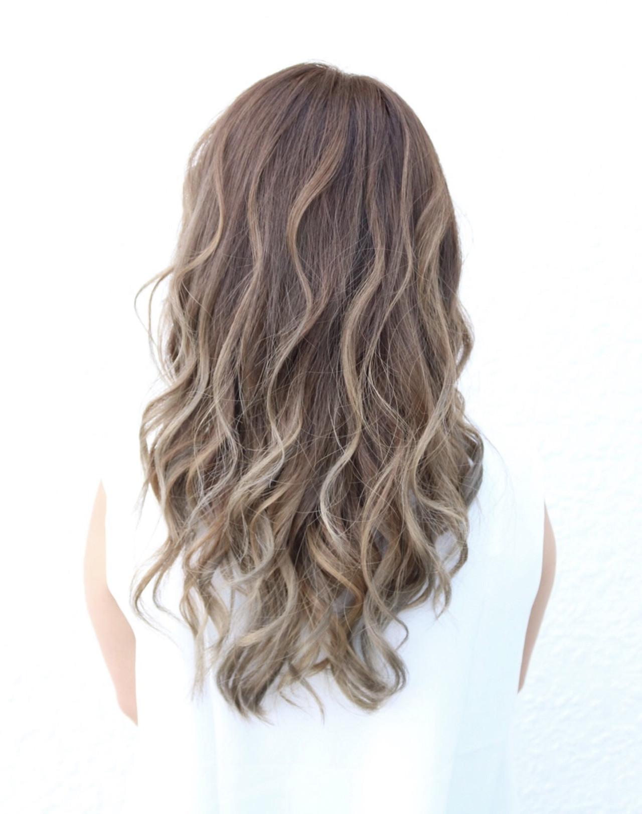 髪色の変化を楽しむグラデーション 蝦名貴之