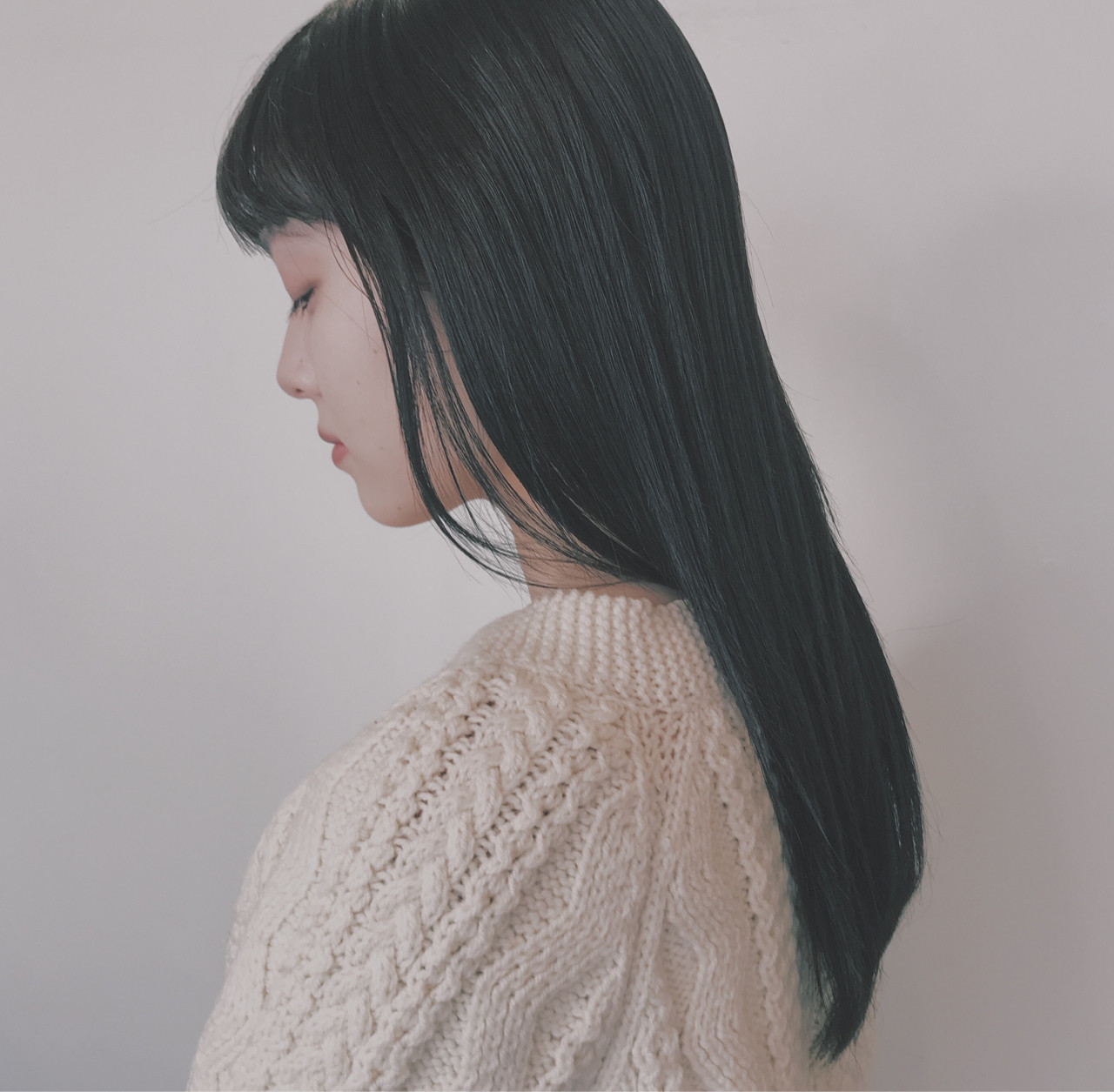 前髪ありなら清潔感たっぷりなストレートロング♪ BRIDGE英香 | BRIDGE