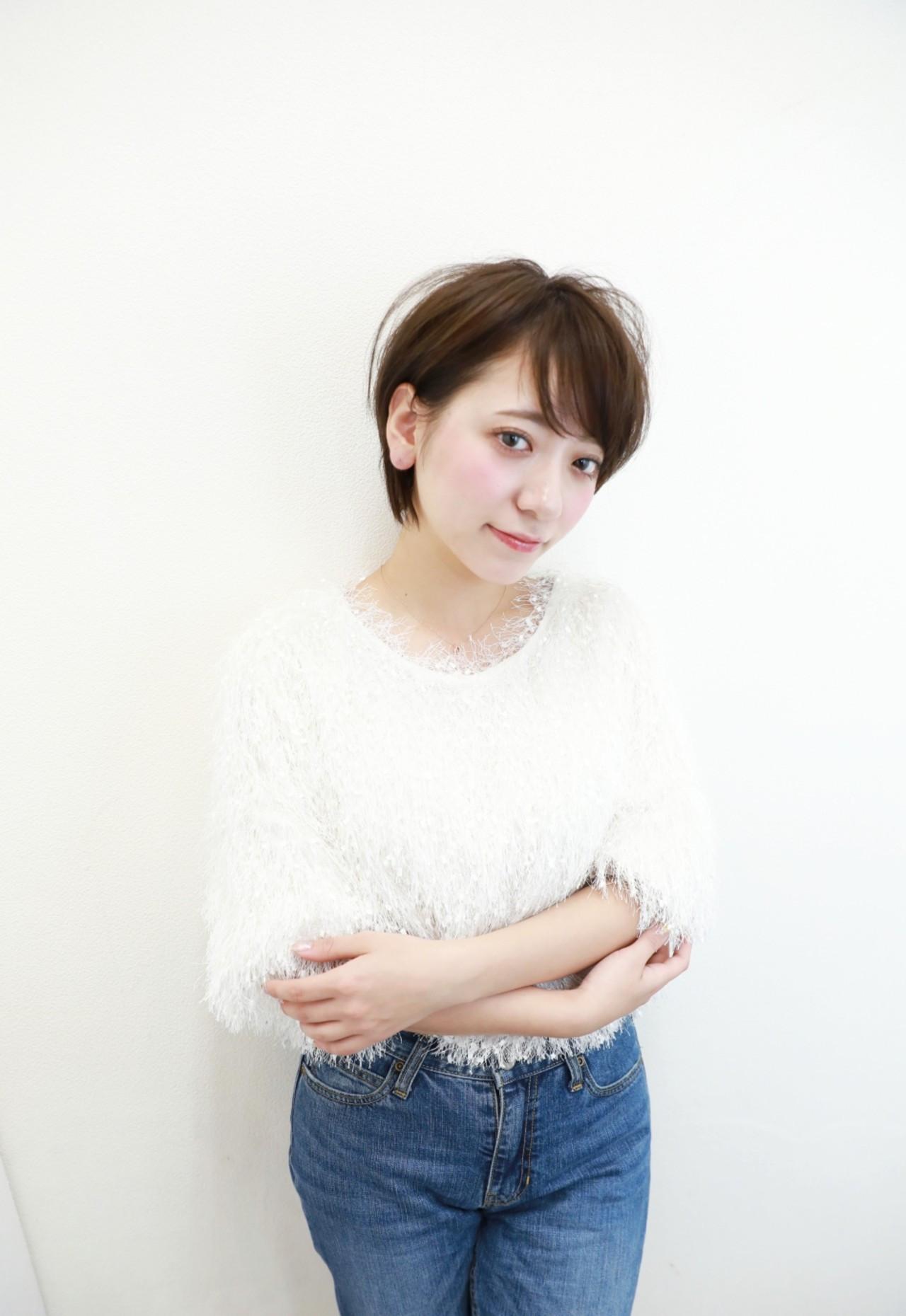 すっきり見せるなら耳かけショート Naoko Miura | avant