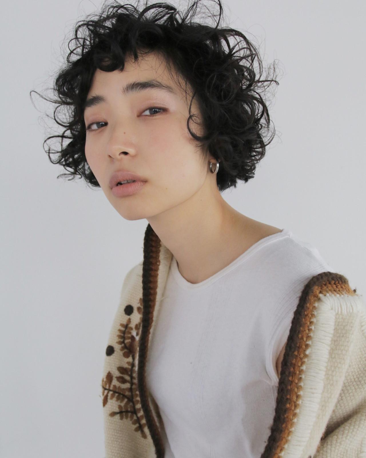 くせ毛風がこなれてるの♡ 津崎 伸二 / nanuk | nanuk渋谷店(ナヌーク)