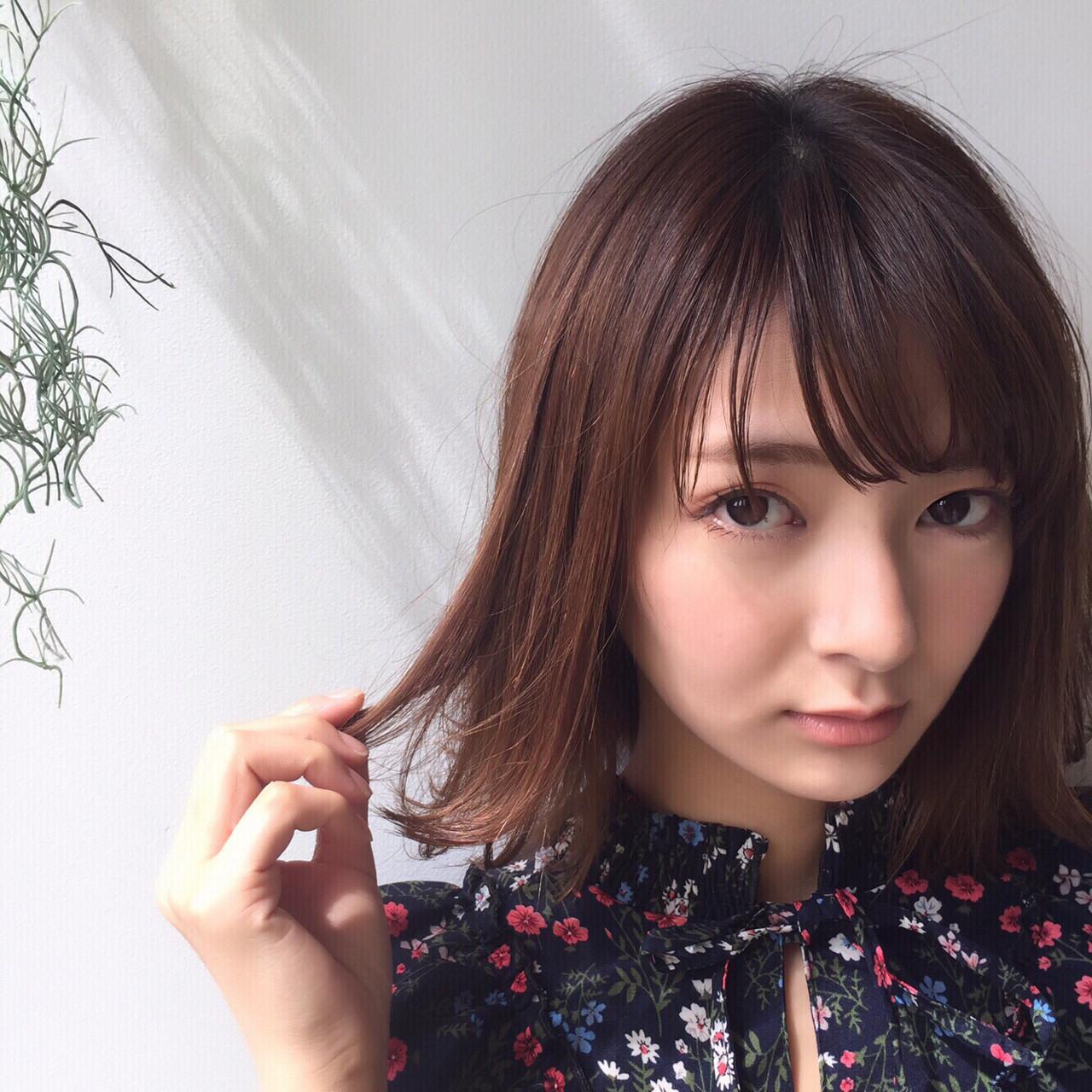 こなれ感たっぷりな切りっぱなしボブ 鈴木ゆうすけ | GARDEN harajuku