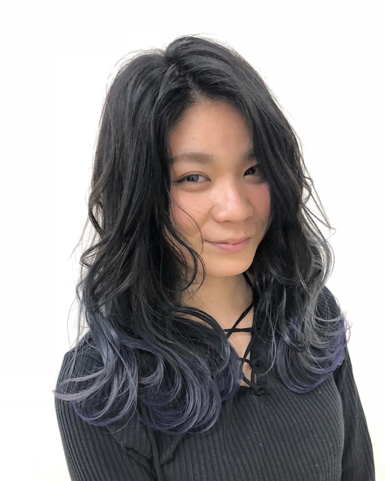 グラデーションカラーの巻き方 Yuuta Asato