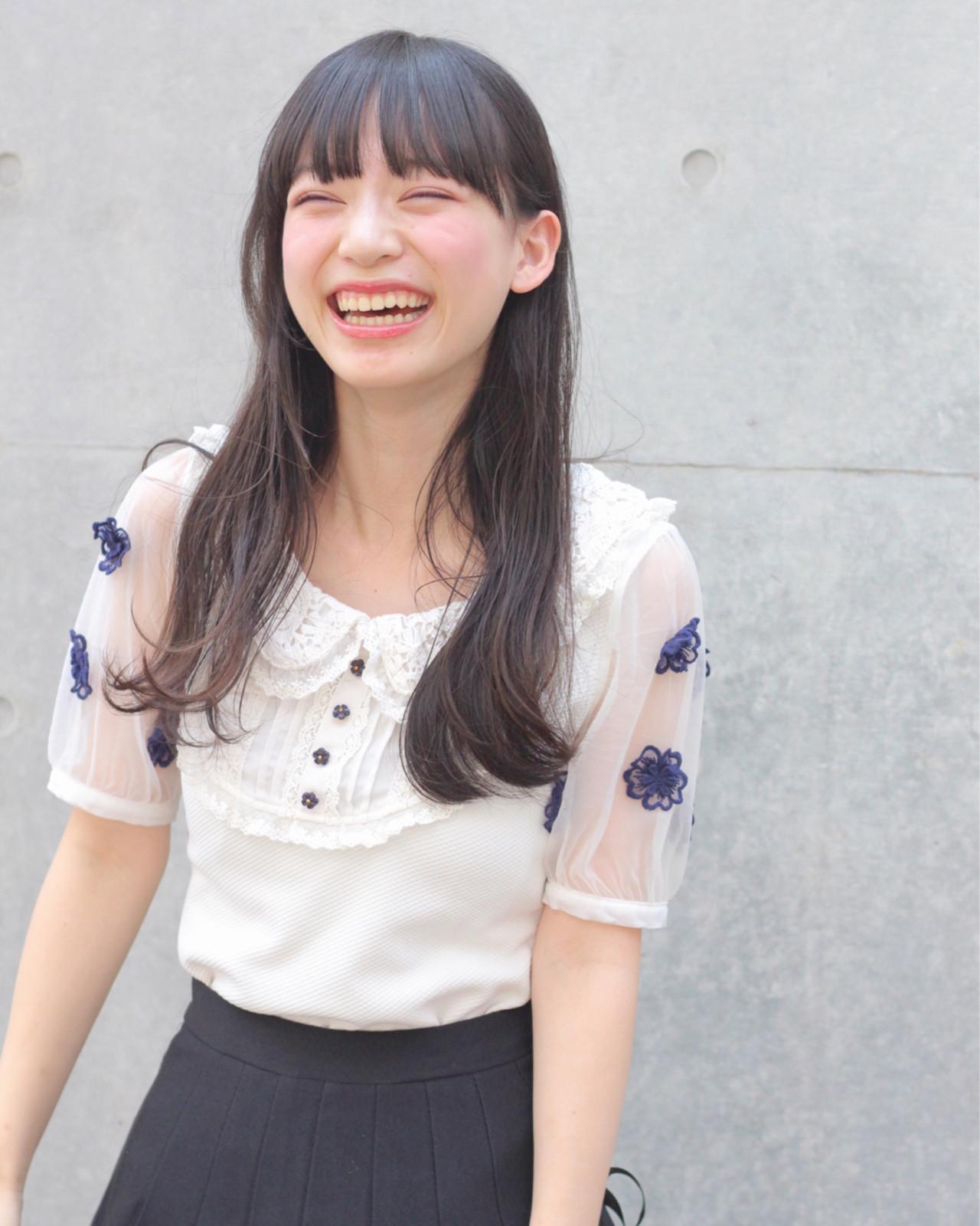 清楚な耳かけロングは大人カワイイ♡ Wataru Maeda | cache cache