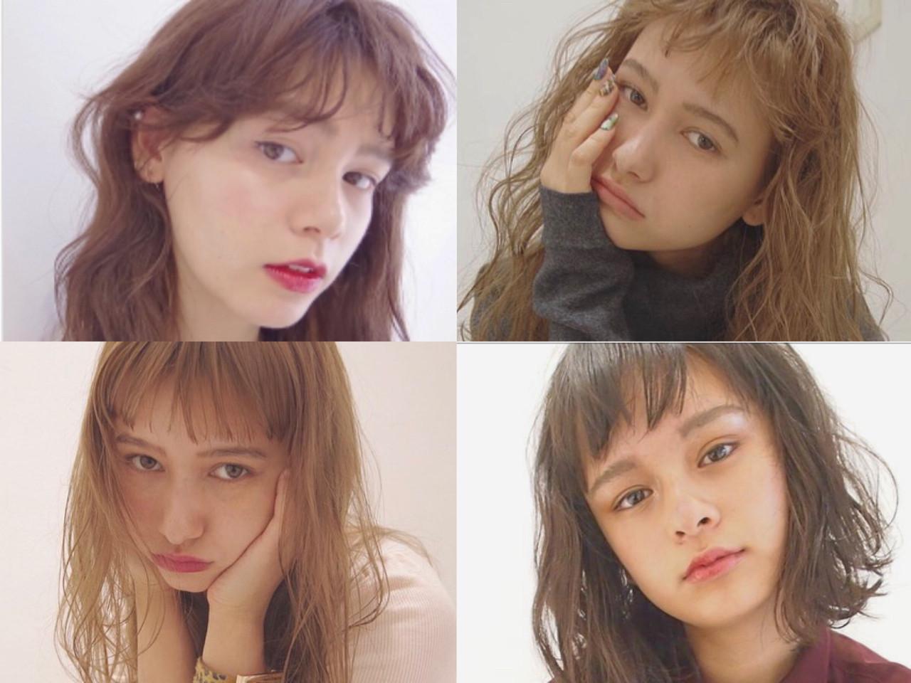 チョッピーバングなら小顔効果が出せる♪ Rie Akita | LOAVE omotesando