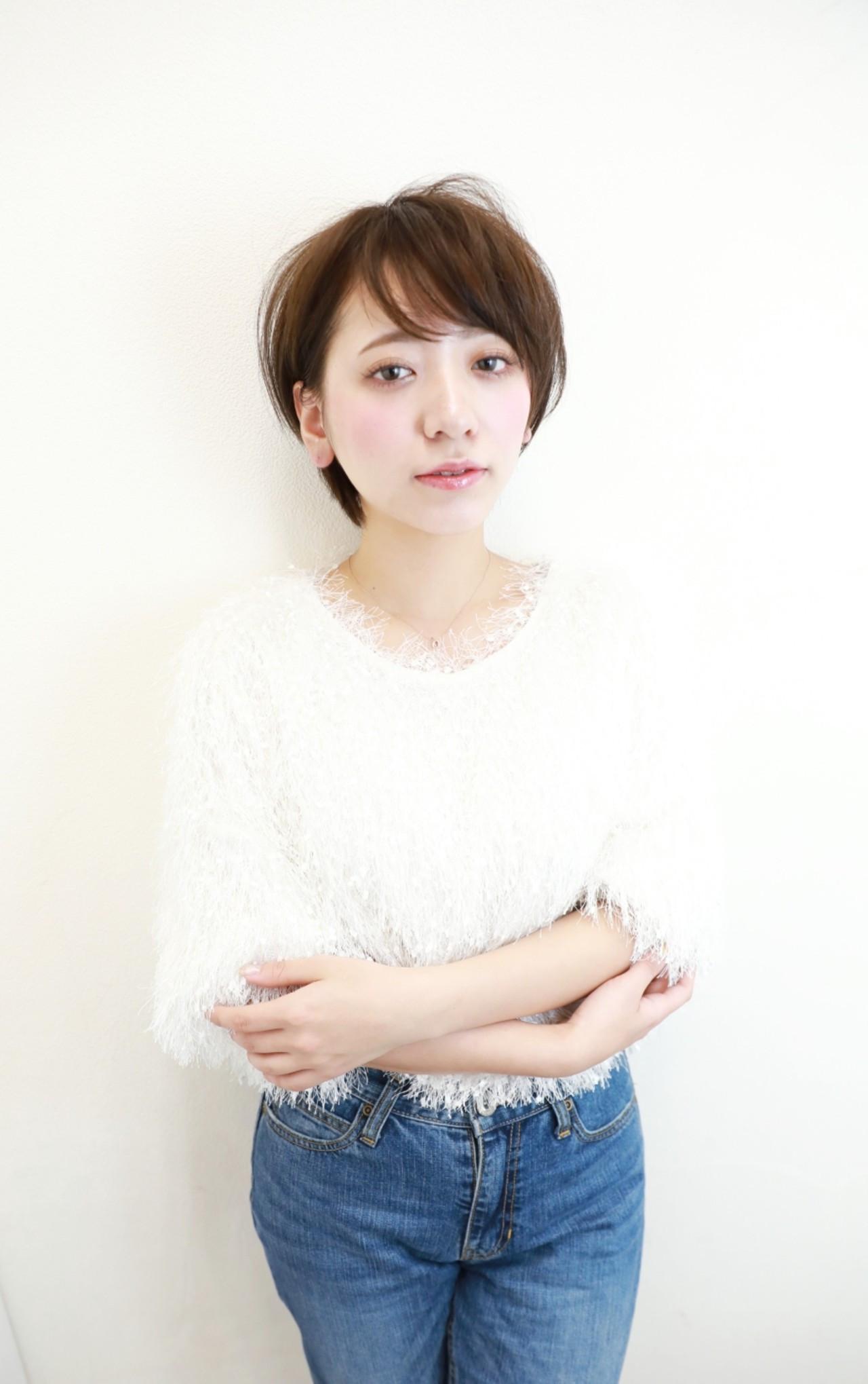 ショートヘアで叶える自然体の可愛さ♡ Naoko Miura