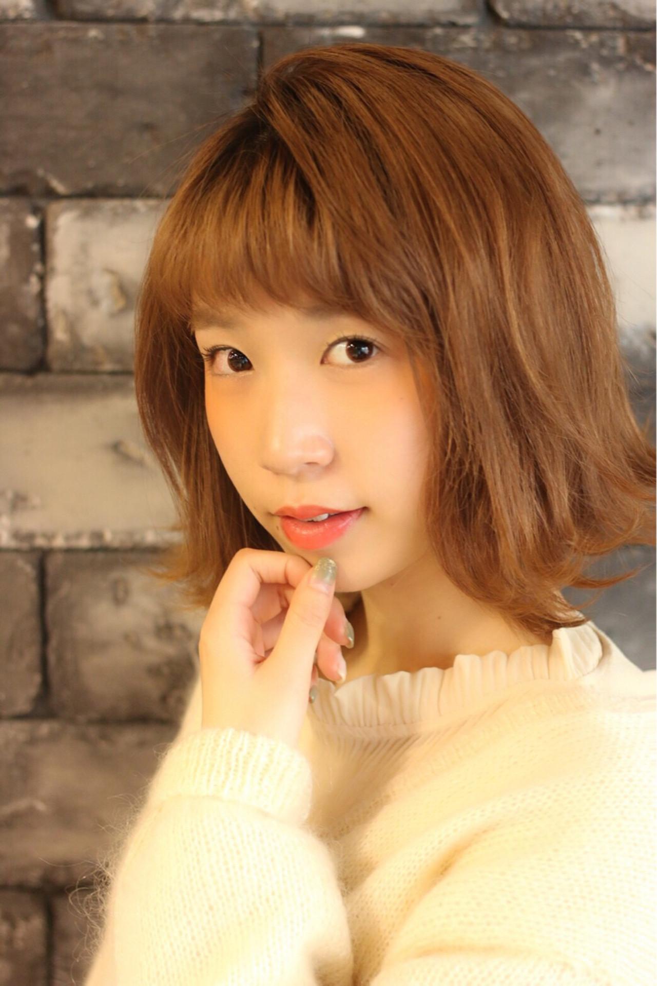 垢抜け女性におすすめ☆オレンジベージュが魅力満点♡ 中林 香奈