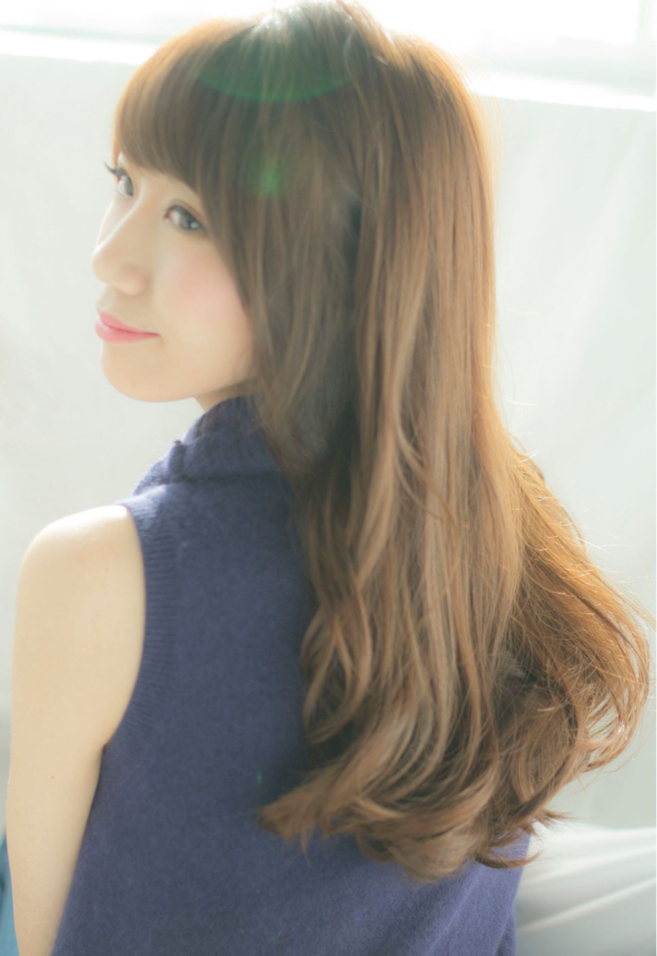 透明感も手に入る髪色、ショコラベージュ♡ NARUOKA